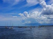 迈阿密港口,佛罗里达 图库摄影
