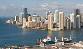 迈阿密端口 库存照片