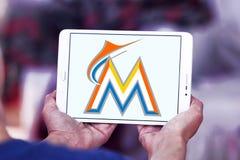 迈阿密细索棒球队商标 图库摄影