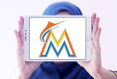 迈阿密细索棒球队商标 免版税库存图片