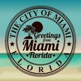 迈阿密设计 库存图片