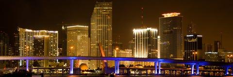 迈阿密都市风景 库存照片