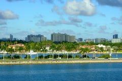 迈阿密里维埃拉 免版税图库摄影