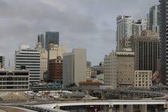 迈阿密建筑学  免版税库存照片
