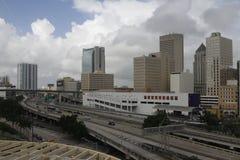 迈阿密建筑学  库存图片