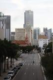 迈阿密建筑学  库存照片