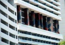 迈阿密-从metromover的看法 免版税库存图片