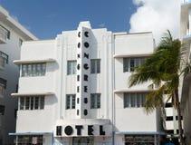 迈阿密Beach艺术装饰的国会旅馆 免版税库存图片