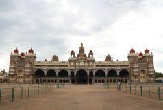迈索尔宫殿在印度的迈索尔 库存照片