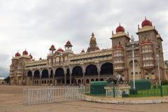 迈索尔宫殿在印度的迈索尔 库存图片