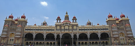 迈索尔宫殿,印度 免版税库存照片