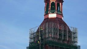 运作在13世纪高耸恢复的重建者 影视素材