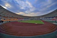 运动会比赛地点 免版税库存图片