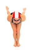 运动员女性游泳者 库存图片