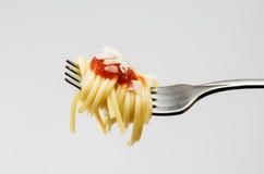 运动员的一顿膳食 图库摄影