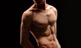运动员身体局部 免版税库存图片