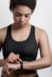 运动妇女年轻人 库存照片