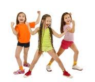 运动的女孩 免版税库存照片