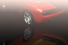 运动的汽车 免版税图库摄影