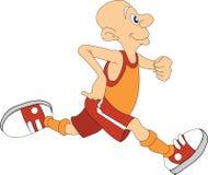 运动赛跑者 向量例证