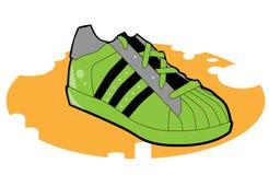 运动鞋 皇族释放例证