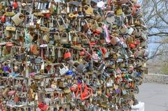 运气的锁在傲德萨 免版税库存照片
