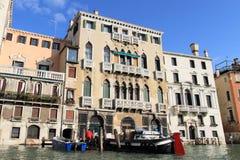 运河全部中世纪威尼斯 库存图片