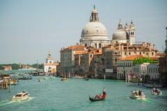 运河全部威尼斯视图 库存照片
