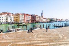运河全部威尼斯 意大利 免版税图库摄影