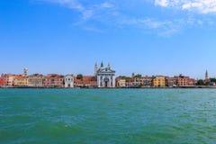 运河全部威尼斯 图库摄影