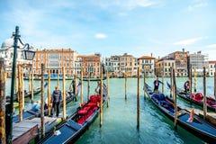 运河全部威尼斯 免版税图库摄影