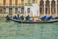 运河全部意大利威尼斯 库存照片