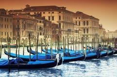 运河全部意大利威尼斯 免版税库存图片