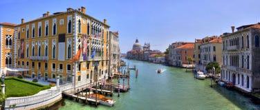 运河全部hdr图象意大利威尼斯 库存照片