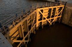 运河关闭关起来 库存照片