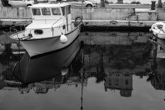 运河反射 图库摄影