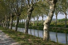 运河反映 图库摄影