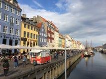 运河哥本哈根 免版税图库摄影