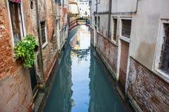 运河在威尼斯 免版税库存图片