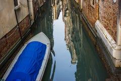 运河在威尼斯 库存图片