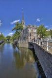 运河在德尔福特 免版税库存照片