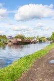 运河场面 库存照片