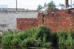 运河墙壁03 库存照片