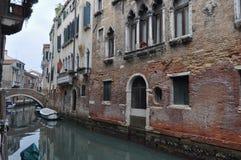 运河威尼斯视图 库存照片