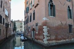 运河威尼斯视图 免版税库存照片