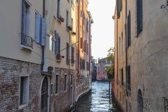 运河威尼斯视图 免版税图库摄影