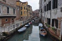 运河威尼斯视图 库存图片