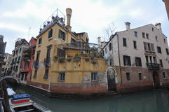 运河威尼斯视图 免版税库存图片