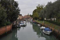 运河威尼斯视图 图库摄影