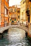 运河威尼斯 免版税库存图片